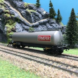 Wagon citerne ERMEFER SNCF Ep IV-HO 1/87-BRAWA 48771