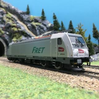 Locomotive Electrique 186 AKIEM SNCF Ep VI-HO 1/87-BRAWA 43954