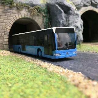 Bus Mercedes Citaro N Bleu-HO-1/87-AWM 11821.2