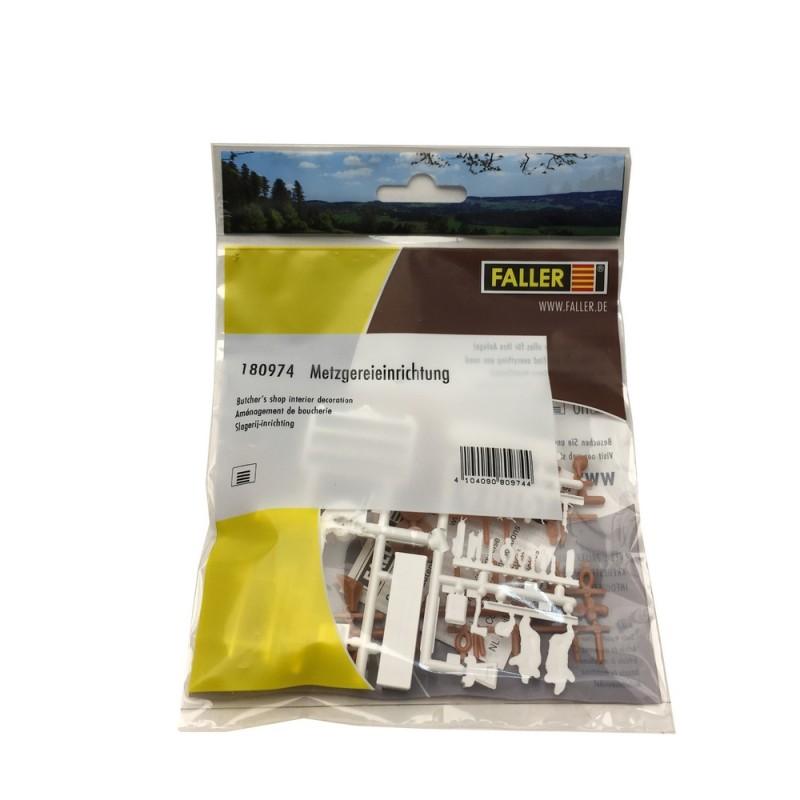Faller 180974 h0 impostazione macelleria