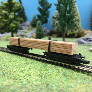 Wagon transport de bois-Z 1/220-MARKLIN DEP120-042