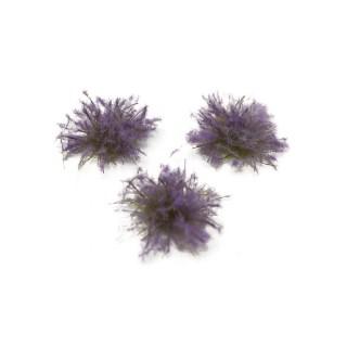 100 touffes de lavande fleurie 5-6mm-Toutes échelles-HEKI 1825