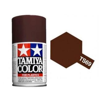 Bois (Lino) Foncé (Pont de bateau) Mat Spray de 100ml-TAMIYA TS69