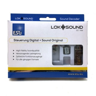 Décodeur digital 6 broches NEM651 loksound V5 sonore-ESU-58416