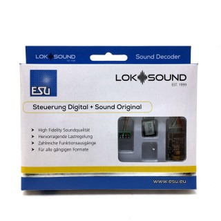 Décodeur digital 8 broches NEM652 loksound V5 sonore-ESU-58410
