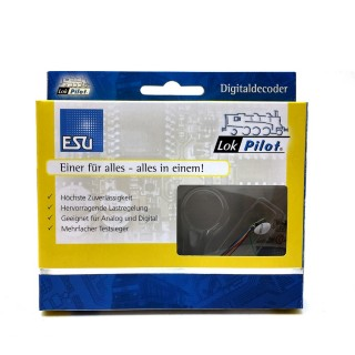 Décodeur digital 6 broches NEM651 loksound V5 sonore-ESU-53664