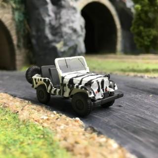 "Jeep Universal ""Zêbre""-HO 1/87-BREKINA 58903"