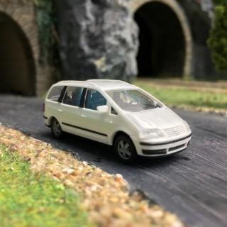 VW Sharan Blanc-HO 1/87-AWM 0870BC
