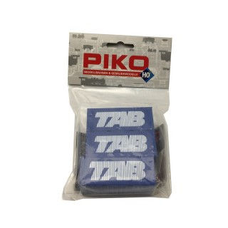"""3 Containers """"TAB""""-HO 1/87-PIKO DEP67-230"""