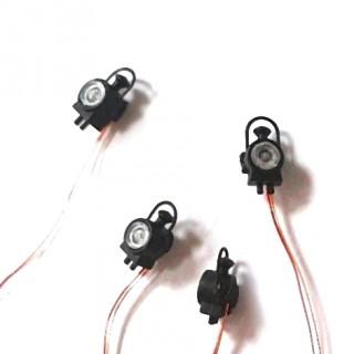 4 Lanternes à Leds pour vapeur (Précablées)-HO 1/87-REE XB544