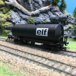 Wagon citerne ELF SNCF-HO 1/87-JOUEF DEP77-004