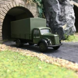 Camion Mercedes Baché US Army-HO 1/87-BREKINA DEP67-223