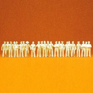 """24 personnages """"En Uniforme"""" à peindre-HO 1/87-PREISER 16345"""