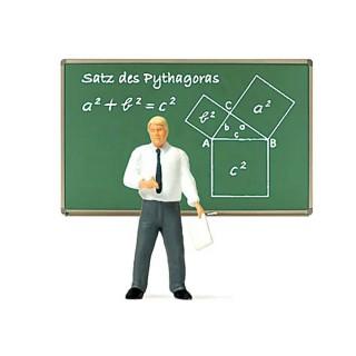 Prof de Maths-HO 1/87-PREISER 29107