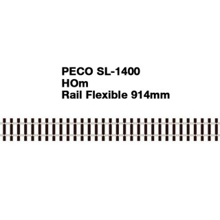 Rail Flexible 914mm Code 75-HOm 1/87-PECO SL1400