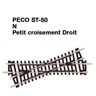 Croisement Droit-N-1/160-PECO ST50