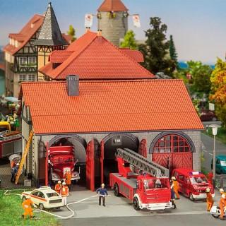 Caserne de Pompiers-HO 1/87-FALLER 130162