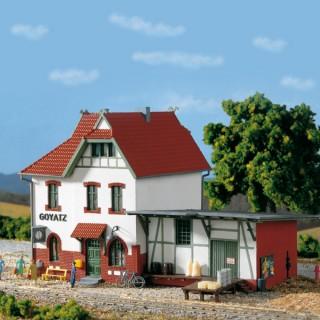 "Petite Gare de type ""Goyatz""-HO 1/87-AUHAGEN 11347"