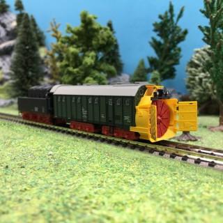 Chasse-Neige avec Tender DB Ep IV-N 1/160-MINITRIX 15422
