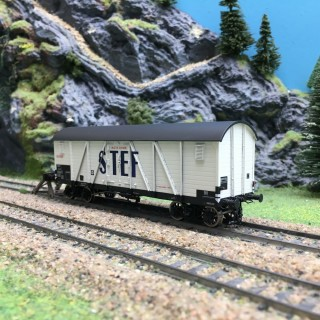 Wagon Isotherme TP STEF Ep III SNCF-HO 1/87-R37 HO43009a