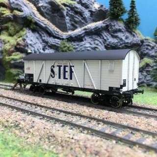 Wagon Isotherme TP STEF Ep III SNCF-HO 1/87-R37 HO43009b