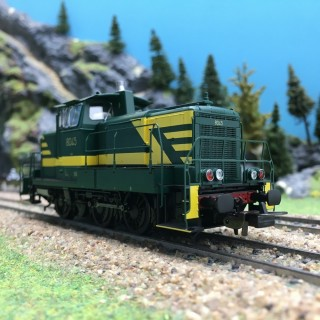 Locomotive Diesel Rh 8045 SNCB Ep IV digital son-HO 1/87-PIKO 97789