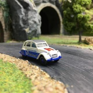 Citroën 2CV Publicitaire-HO 1/87-WIKING 080912