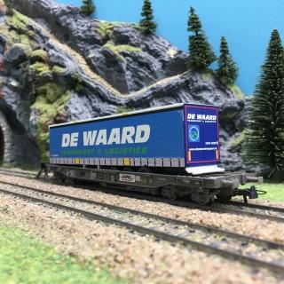 Wagon Poche HUPAC DE WAARD Ep V-VI-HO-1/87-ROCO 76754