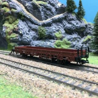 Wagon plat à Ranchers type Kbs DB Ep IV-HO 1/87-MARKLIN 46938