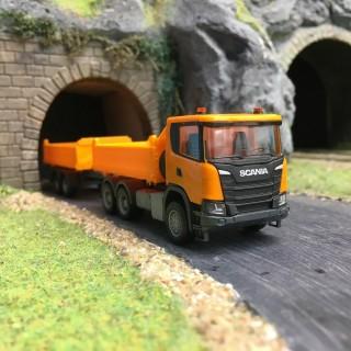 Camion double remorque Scania CG 17 HZ-HO 1/87-HERPA 309738