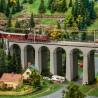 Viaduc rectiligne 2 voies-N 1/160-FALLER 222599