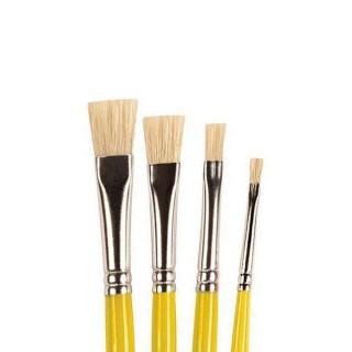 4 pinceaux 3-5-7-10 poils naturels-HUMBROL AG4306