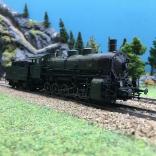 Locomotive G5/5 Bayern Ep II digital son 3R-HO 1/87-MARKLIN 39550