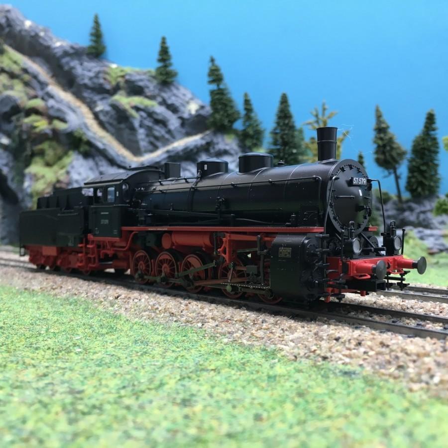 Locomotive BR 57 579 DB Ep III digital son 3R-HO 1/87-MARKLIN 39552