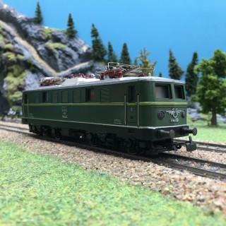 Locomotive 1141 02 ÖBB Hamo-HO 1/87-MARKLIN DEP196-025