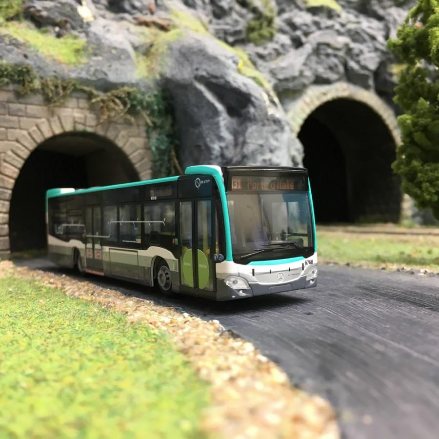 Mercedes Citaro 15 RATP-HO 1/87-RIETZE 69430