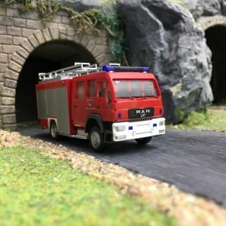 Schlingmann HLF Pompiers-HO 1/87-RIETZE 68266