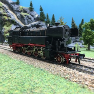 Locomotive BR 65014 DB-HO 1/87-FLEISCHMANN DEP196-012