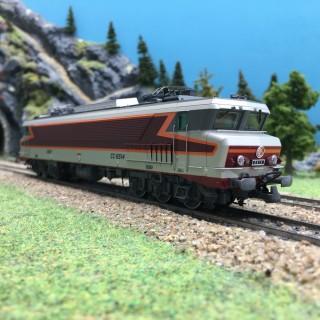 Locomotive CC6514 SNCF ép IV digital son 3R-HO 1/87-ROCO 79399