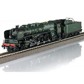 Loco 241 A 002 Est, Simplon Orient Express ep II digital son -HO 1/87- TRIX 22913