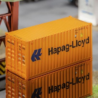Container Hapag Lloyd 20'-HO 1/87-FALLER 180826