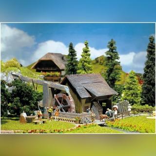 Moulin à eau fonctionnel-HO-1/87-FALLER 130225