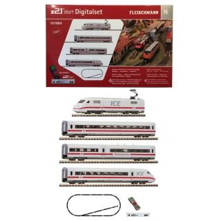 Coffret de démarrage digital ICE 4 éléments-N 1/160-FLEISCHMANN 931884