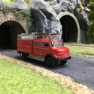 Camion Pompiers Mercedes LAF 1113 LF 16-HO 1/87-BREKINA 47130