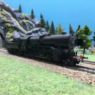 Locomotive Serie 5519 DRG digital son 3R-HO 1/87-MARKLIN 39046