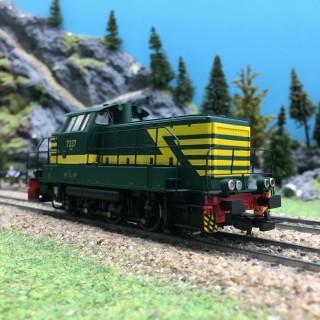 Locomotive Diesel Rh 7337 SNCB Ep IV 3R-HO 1/87-PIKO 96465
