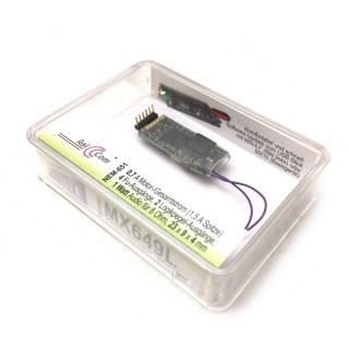 Décodeur sonore miniature 6 broches coudées-ZIMO MX649L
