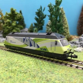 Loco Re 465 Lötschberg Basistunnel Ep V BLS-N 1/160-Kato 137124