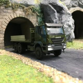 IVECO Trakker Plateau Militaire-HO 1/87-HERPA 746526