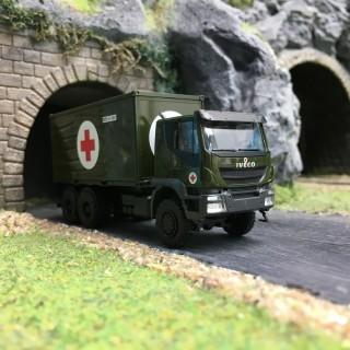 IVECO Trakker Croix Rouge Militaire-HO 1/87-HERPA 746519